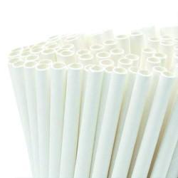 Pailles de pâtes biodégradables Pack 100 pièces